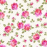 Små målade rosor Arkivbild