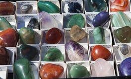 Små mineralstenar Arkivbilder