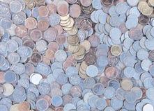 Små mynt Arkivbilder