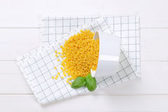 Små pastaskal Royaltyfri Foto