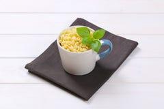 Små pastaskal Royaltyfri Bild