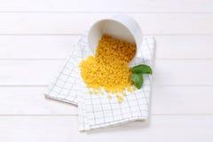 Små pastaskal Arkivfoto