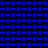 Små piruetter på randig kombination för bakgrund i motsats vektor illustrationer