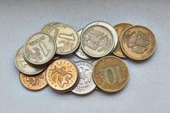 Små ryska pengar Arkivbild