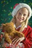 Små Santa arkivbild