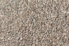 Små stenar för textur Arkivbild