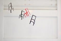 Små stolar Arkivfoton