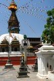 Små Stupa Arkivbilder