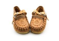 Små traditionella skor Arkivfoton