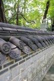 Små väggar för traditionell kines Arkivbild