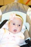 Småbarnet på en gunga Royaltyfria Bilder