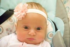 Småbarnet på en gunga Arkivbilder