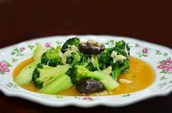 småfiskstirgrönsak Arkivfoton