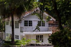 Småhus i Kuba Arkivbilder