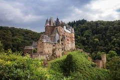Småstad Eltz, Tyskland Royaltyfri Fotografi