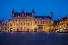 'Småstaden 'i Bruges arkivbilder