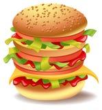 smörgås royaltyfri illustrationer