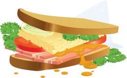 smörgås Royaltyfria Bilder