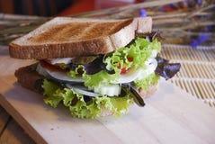 Smörgås Fotografering för Bildbyråer
