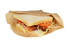 Smörgås BLT. royaltyfri fotografi