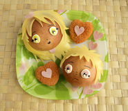 Smörgås för älskling Royaltyfri Foto
