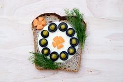 Smörgås för barn Royaltyfri Fotografi
