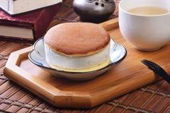 Smörgås för romrussinglass arkivfoton