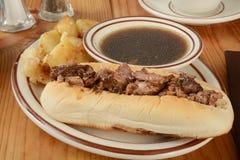 Smörgås för steknötkött Royaltyfria Bilder