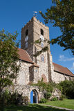 SMÖRGÅS KENT/UK - SEPTEMBER 29: Sts Peter kyrka i smörgås Arkivfoton