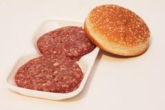 Smörgås med kött Arkivbilder