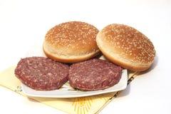 Smörgås med kött Arkivfoto