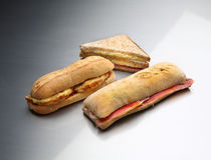 Smörgås tre Arkivfoton