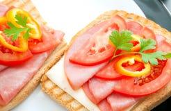 smörgåsar Royaltyfria Foton