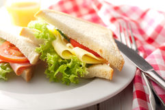 Smörgåsar Arkivbild