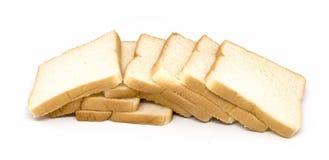 Smörgåsbröd på vit bakgrund Royaltyfri Foto