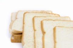 Smörgåsbröd på vit bakgrund Royaltyfria Foton