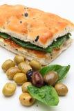 Smörgåsgrönsak Arkivfoto