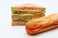 Smörgåsklubbaskinka Arkivbild