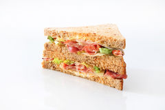 Smörgåsklubbaskinka Arkivfoto