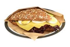 Smörgåsost. royaltyfria bilder