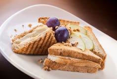 smörgåsrostat bröd Royaltyfri Foto