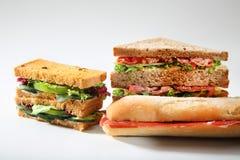 Smörgåsskinkachesee Royaltyfria Bilder