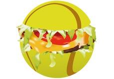 smörgåssportar stock illustrationer