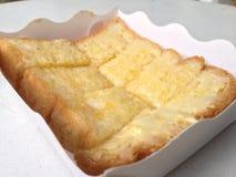 Smörrostat bröd Royaltyfria Bilder