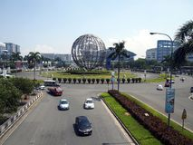 SM centrum handlowe Azja lub SM moa rozważa być trzeci co do wielkości centrum handlowym w świacie Zdjęcie Stock