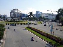 SM centrum handlowe Azja lub SM moa rozważa być trzeci co do wielkości centrum handlowym w świacie Obrazy Stock