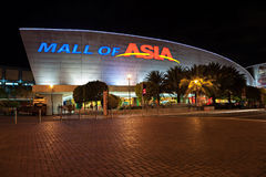 SM Mall of Asia. MANILA, PHILIPPINES - FEBRUARY 23: SM Mall of Asia (MOA) is a 2nd largest mall in the Philippines on February 23, 2013 in Manila, Philippines Royalty Free Stock Photography