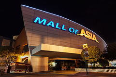 SM Mall of Asia. MANILA, PHILIPPINES - FEBRUARY 23: SM Mall of Asia (MOA) is a 2nd largest mall in the Philippines on February 23, 2013 in Manila, Philippines Stock Image