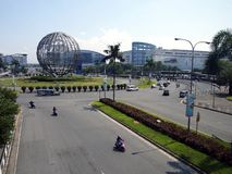 The SM Mall Of Asia or SM MOA is considered to be the third largest mall in the world. PASAY CITY, PHILIPPINES - APRIL 20, 2017: The SM Mall Of Asia or SM MOA Stock Images