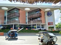 SM MALL. AT LOCATED IN PUERTO PRINCESA CITY stock image